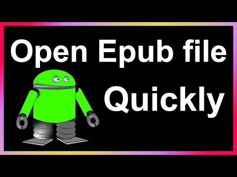 How To Open Epub On Android Phone