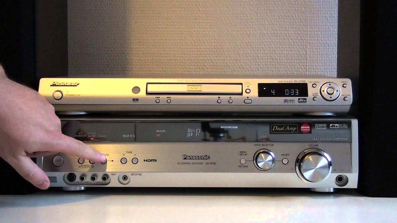 Panasonic Sa-xr58