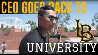 Randall Pich - Visits Cal State Long Beach For Wellness Week //What Sets You Apart