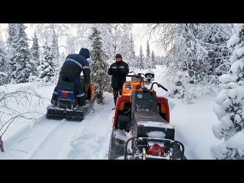 Снегоход Буран.Полный газ-Буран не спас.Вижас НАО