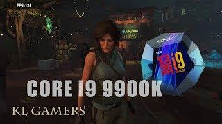 intel Core i9 9900K ASUS ROG STRIX Z390-E GAMING RTX2080 8G Rise of The Tomb Raider Benchmark 2019
