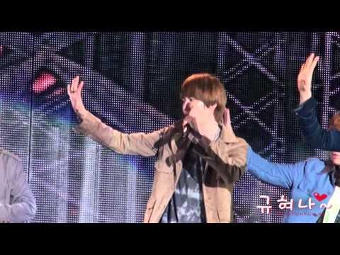 110826 World Championships Daegu-superman_kyuhyun