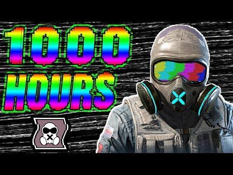 What 1000 HOURS Of MUTE Experience Looks Like - Rainbow Six Siege