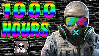 What 1000 HOURS of MUTE Experience Looks Like - Rainbow Six Siege