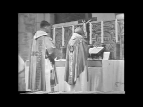 1960 • Aylesford Priory — Carmelite Mass (Traditional Latin Mass)