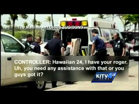 New audio released about first moments of the Hawaiian Airlines stowaway