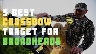Crossbow For Broadheads Target: Best Crossbow Target For Broadheads [Today's Update]