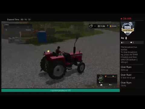 Farming simulator 2017 logging the old way sort of