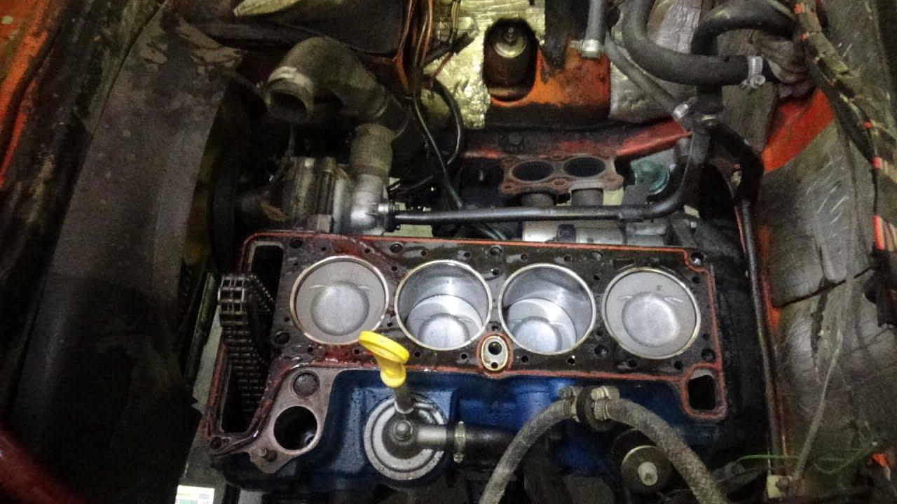 Замена поршней на Ваз 2101 двигатель 213 1.7 л.