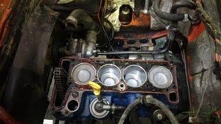 видео двигатель ваз 21011