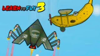TO THE MOON?! - Learn to Fly 3 (Episode 3)