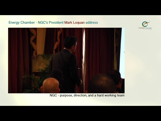 NGC President, Mark Loquan's Feature Address at TT Energy Chamber (Part 01 of 06)