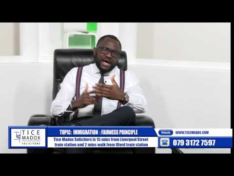 Tice Madox Solicitors- Fairness Principle  by Justice Maduforo (Solicitor)