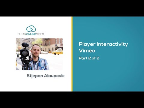 how to add vimeo video cargo