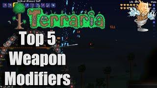 Terraria Top 5 Weapon Modifiers | Terraria Countdown