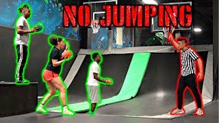 FAKE TRAMPOLINE PARK EMPLOYEE PRANK*KICKING PEOPLE OUT*