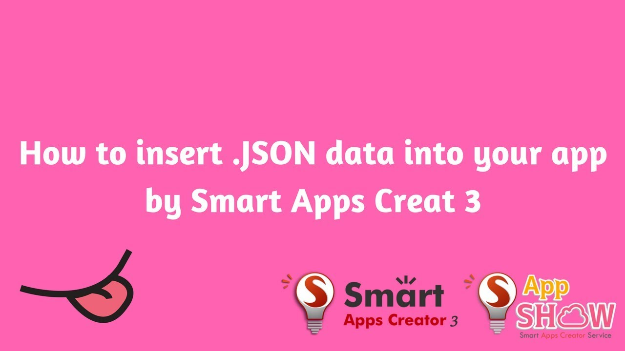 How to insert database into Smart Apps Creator 3