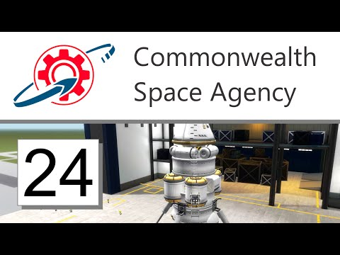 Kerbal Commonwealth Space Agency - 24. Feats of Engineering (KSP 1.0.5)