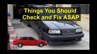 Things You Should Do After You Purchase A P80 Volvo 850, S70, V70, V70R, Etc. - VOTD
