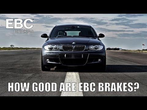 How Good Are EBC Brakes?   Comparison Test