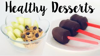 Best Healthy Desserts! 5 Easy Recipes