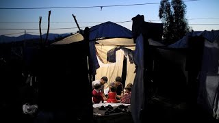 Moria refugee camp conditions