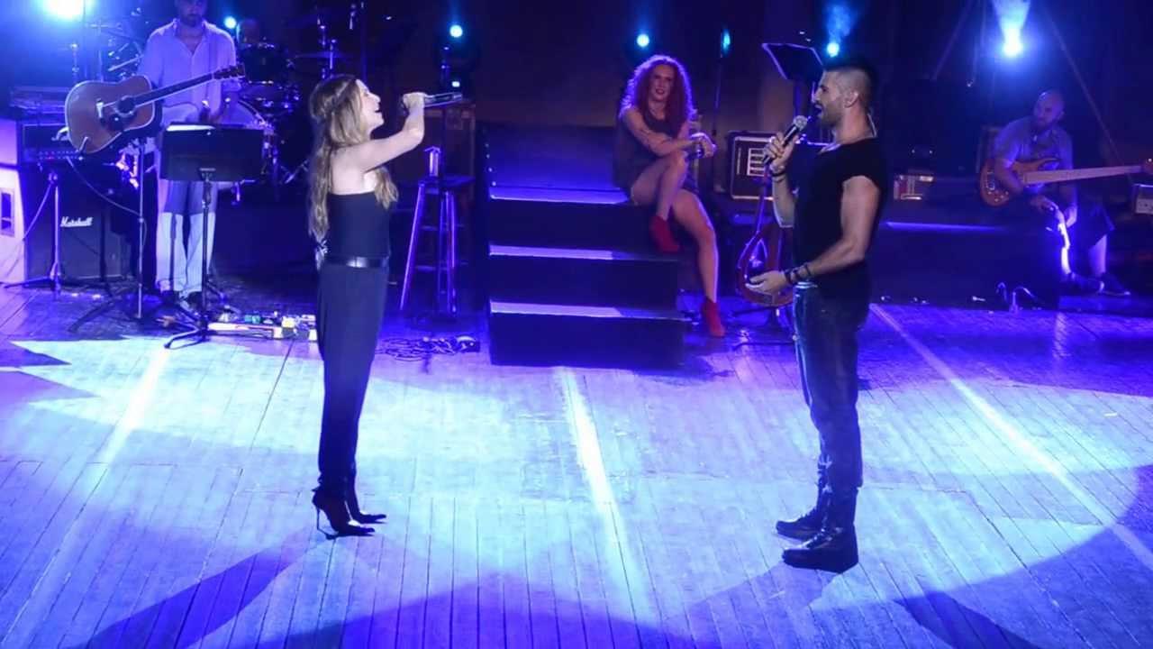 Άννα Βίσση & Παναγιώτης Πετράκης - Φοβάμαι, Άννα Με Πάθος Tour, Λάρνακα (29/07/2013)