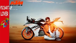 PICSART LOVER BIKE EDITING PICSART BIKE EDITING KTM BIKE MANIPULATION IN PICSART KTM BIKE EDITING
