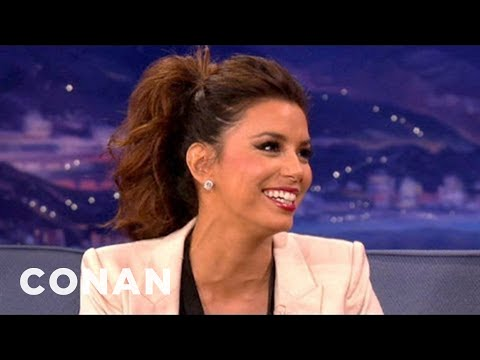 Eva Longoria: The ALMA Awards Are Like Gay NASCAR - CONAN on TBS