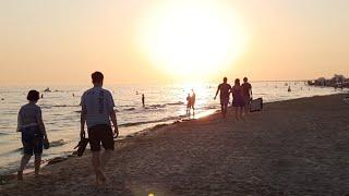 Закат Пляж Кавказ Юра Фотографирует.