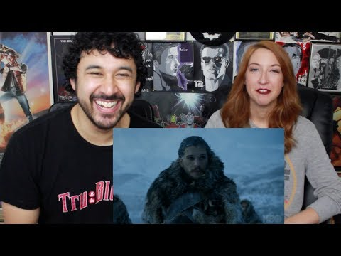 "GAME OF THRONES SEASON 7: #WinterIsHere TRAILER #2 REACTION & ""PREDICTIONS""!!!"