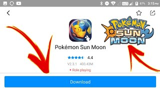 Download Pokemon Sun And Moon Game For Android 2018 |