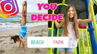 Instagram Followers CONTROL Our Life For A Day! Summer Break!