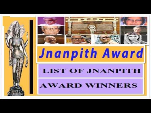 JNANPITH AWARD WINNERS LIST IN ENGLISH 1965 – 2016   LIST OF JNANPITH AWARD WINNERS   WOW SUPER GURU
