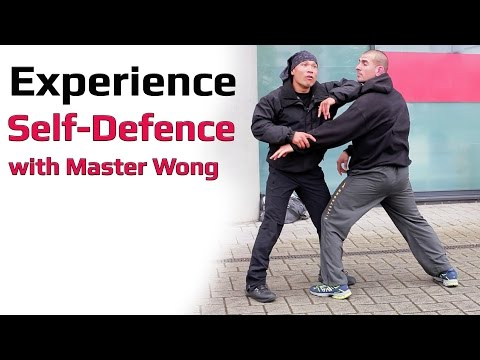 Experience self defence with Master Wong
