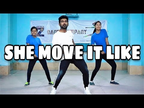 SHE MOVE IT LIKE, Dance Video, Badshah | Original Never Ends | AfterZ Dance Company