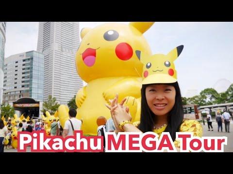 Méga Tour de Pikachu Land : Minato Mirai Yokohama [Pikachu Outbreak!]