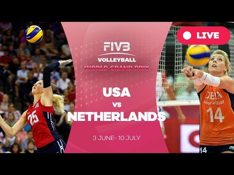 United States v Netherlands - Group 1: 2016 FIVB Volleyball World Grand Prix