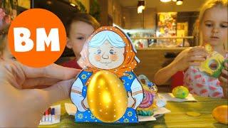 ВЛОГ После садика едем с Алисой красить яйца