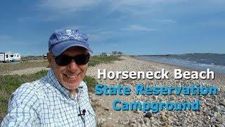 Oceanfront Camping at Horseneck Beach