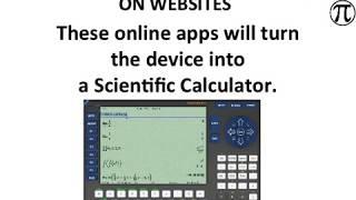 ONLINE APPS: Best Calculators & Math programs (Links below video)