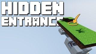 Minecraft: Seamless Hidden Entrance