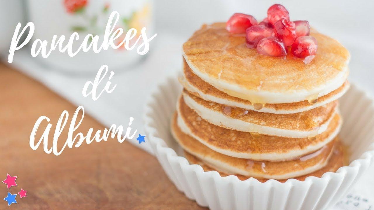 Ricetta Pancake Di Benedetta.Pancakes Di Albumi Senza Glutine Fatto In Casa Da Benedetta Rossi