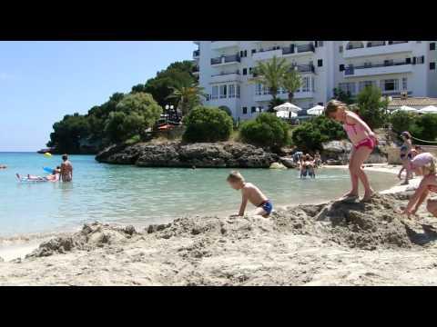 Cala Ferrera beach Majorca 7-6-2010