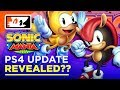 Sonic Mania - PS4 Update Published By Accident!