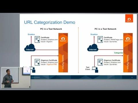 Gigamon URL Categorization and Demo with Jai Balasubramaniyan and Anish Sharma