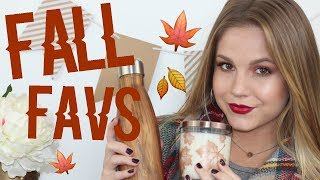 FALL MUST-HAVES// Makeup, Fashion, & Lifestyle!