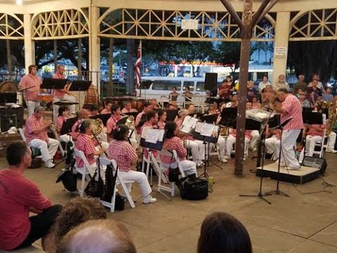 Hawaii County Band, July 4, 2016