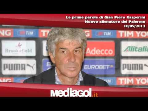 Gian Piero Gasperini si presenta in conferenza stampa - 18/09/2012 - Mediagol.it