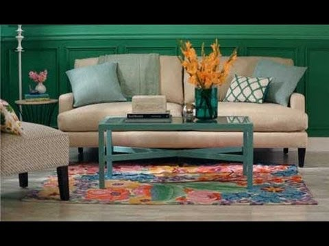 How to Arrange Couch Pillows - YouTube